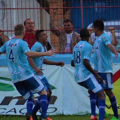 Avaí comemoração contra Brusque (Foto: André Palma Ribeiro/Avaí FC)