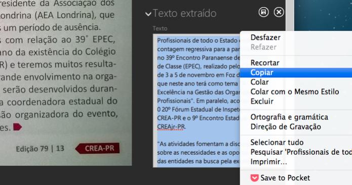 Copiando todo o texto (Foto: Reprodução/Helito Bijora) (Foto: Copiando todo o texto (Foto: Reprodução/Helito Bijora))