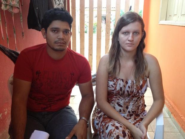 Marceli Natz foi transferida de Candeias para o Hospital de Base (Foto: Camilo Estevam/G1)