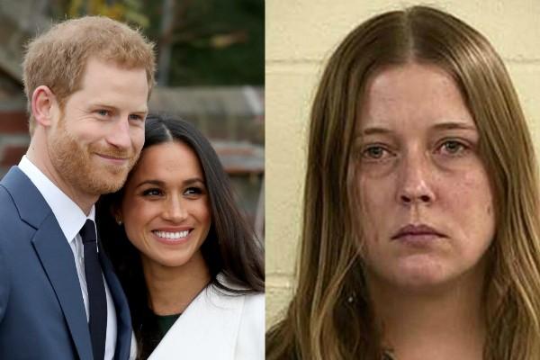 Príncipe Harry, Meghan Markle e Darlene Blount (Foto: Getty Images/Divulgação)
