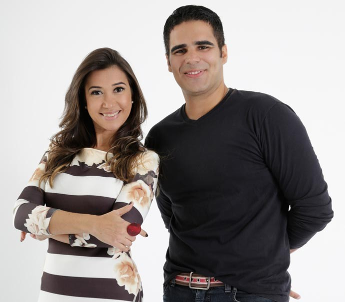 Simone Castro e Helder Vilela comandam a nova atração da Rede Clube (Foto: Divulgação/Rede Clube)