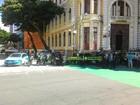 Agentes de trânsito do Detran fazem carreata no Centro do Recife