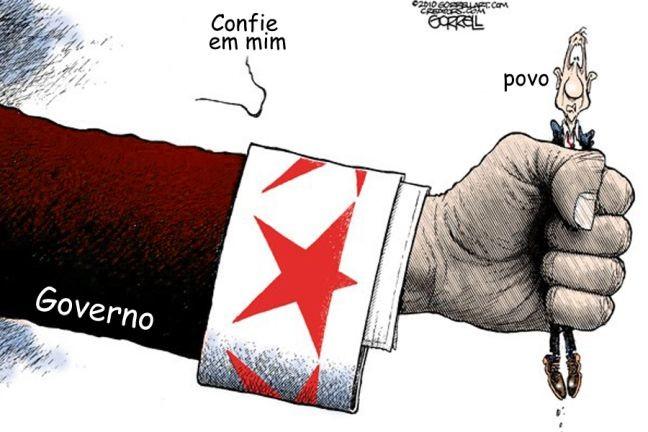 Estado inchado (Foto: Arquivo Google)