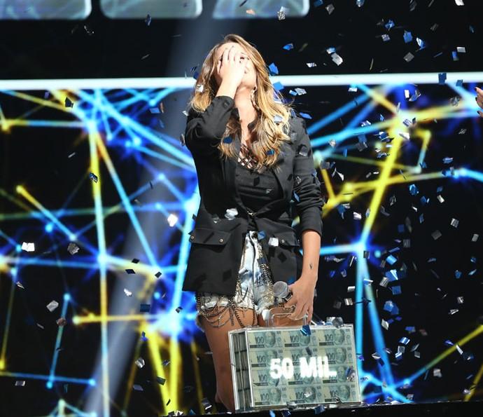 Karielle Gontijo vence disputa do Iluminados (Foto: Carol Caminha/Gshow)