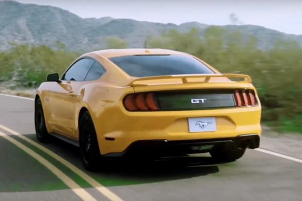 Vazam primeiras imagens do Ford Mustang reestilizado (Foto: Reprodução)