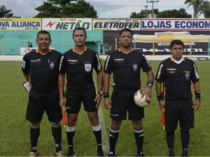 Fábio Pereira em jogo pelo Campeonato Tocantinense (Foto: Divulgação)