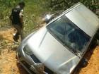 Durante a fuga, homens capotam carro roubado em Chapada Gaúcha