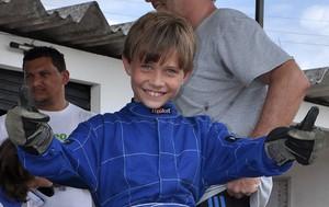 Henri Forest, de apenas nove anos, representará o Maranhão (Foto: Divulgação/William Camizão)