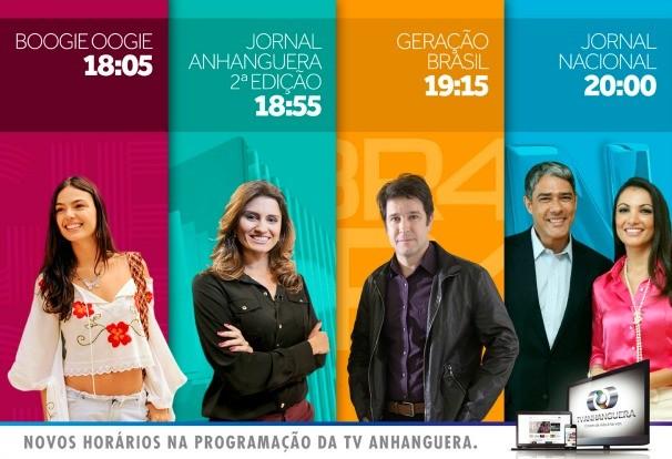 Mesmo com o horário político, seus programas tem espaço garantido! (Foto: TV Anhanguera)