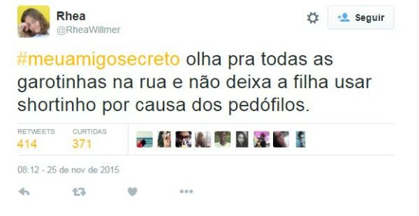 #meuamigosecreto 4 (Foto: Reprodução/Twitter)