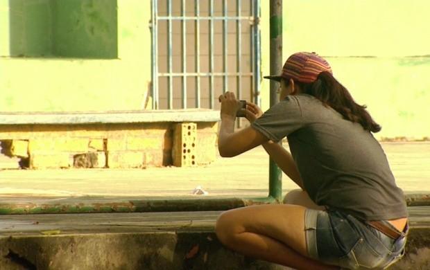 Passeio fotográfico é realizado pelas ruas de Boa Vista (Foto: Bom Dia Amazônia)