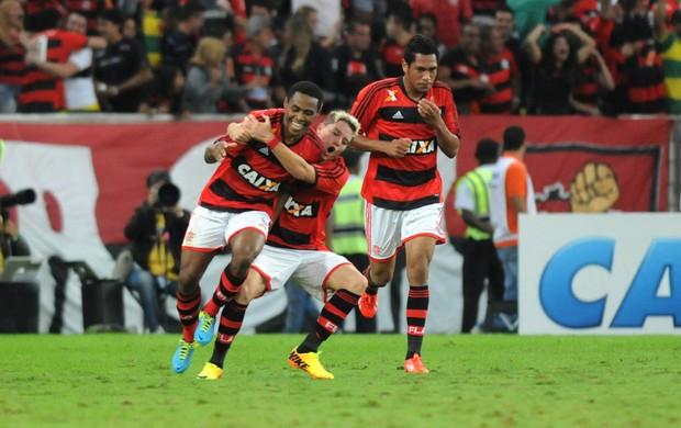 Elias gol Flamengo x Botafogo (Foto: André Durão / Globoesporte.com)