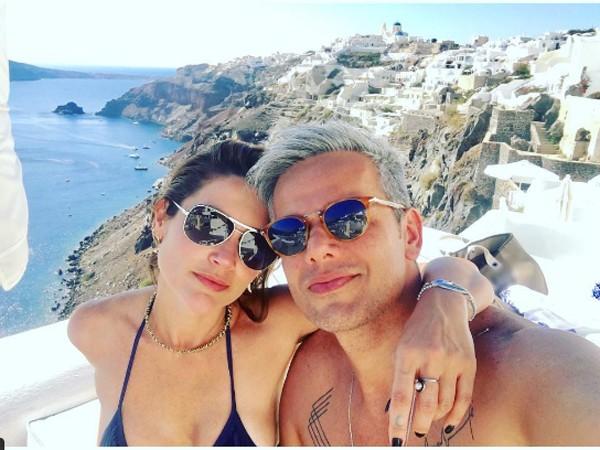 Flavia Alessandra e Otaviano Costa (Foto: Reprodução / Instagram)