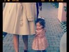 Mariah Carey posta foto da filha cheia de charme: 'Diva em treinamento'