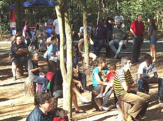 Projeto visa levar entretenimento a espaços públicos como o Bosque Municipal.  (Foto: Divulgação )