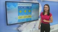 Confira a previsão do tempo na região para o início da semana