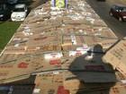 Motorista de carreta é preso com cerca de 900 caixas de cigarros no PR