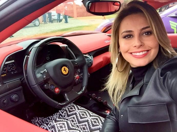 Daiane Fardin (Foto: Divulgação/RPC)
