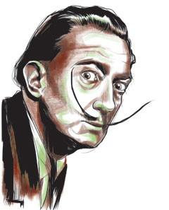 Salvador Dalí (Foto: GQ)