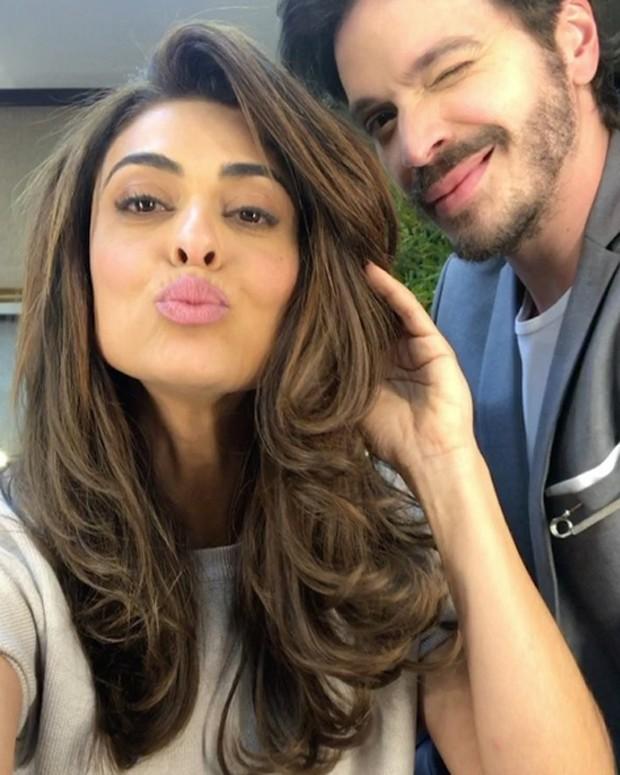 Tiago Parente e Juliana Paes (Foto: Reprodução/Instagram)