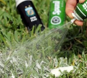 Heine Allemagne, inventor do Spuny, espuma utilizada para demarcar local da barreira no futebol 3 (Foto: Heine Allemagne/Arquivo pessoal)