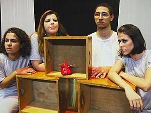 Apresentação 'O Homem do Comeco ao Fim' realizado pelo curso de Arte Dramática (Foto: Divulgação/ Prefeitura de Araraquara)