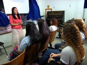 sala de aula (Foto: TV Globo/Reprodução)