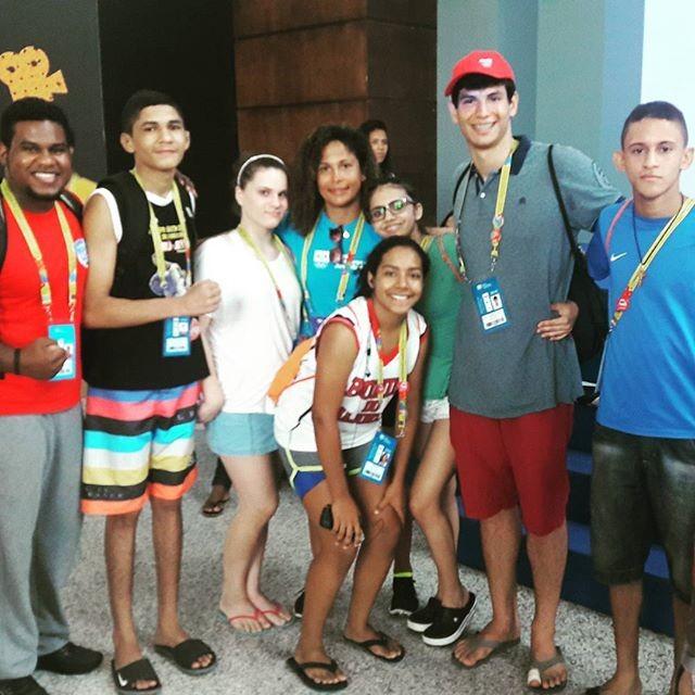 @duhcruz, #vcnogepb, Jogos Escolares da Juventude, JEJs (Foto: Arquivo pessoal)