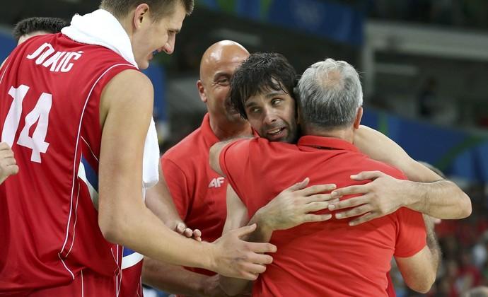 Milos Teodosic Sérvia x Austrália basquete Olimpíada (Foto: Shannon Stapleton/Reuters)