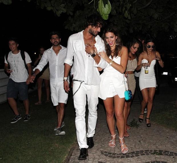 Bruna Marquezine e Marlon Teixeira (Foto: Orlando Oliveira / AgNews)