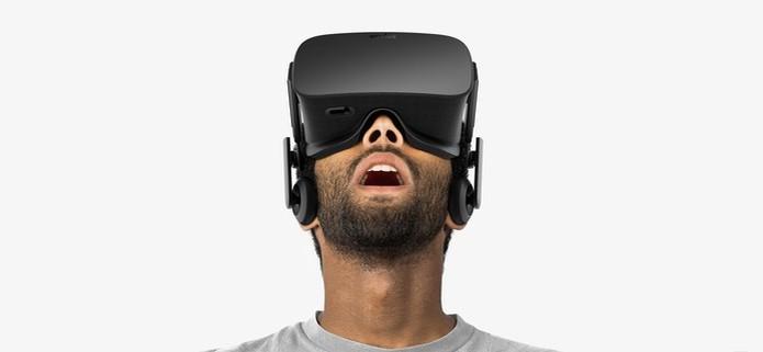 dcd72791b7255 Oculus Rift tem design super confortável (Foto  Divulgação Oculus VR) (Foto