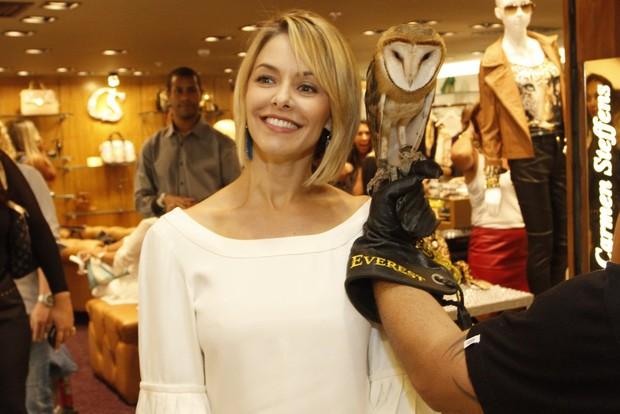 Bianca Rinaldi em lançamento de coleção de loja (Foto: Marcos Ferreira / Foto Rio News)