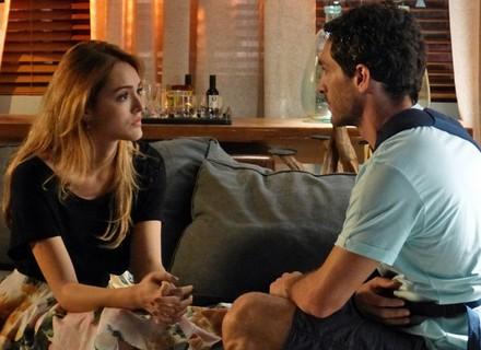 Reta final: Júlia diz a Felipe que não vai viajar com ele