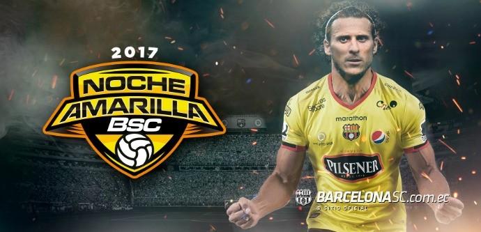 BLOG: Depois de Ronaldinho, Barcelona de Guayaquil terá Forlán em festa com elenco