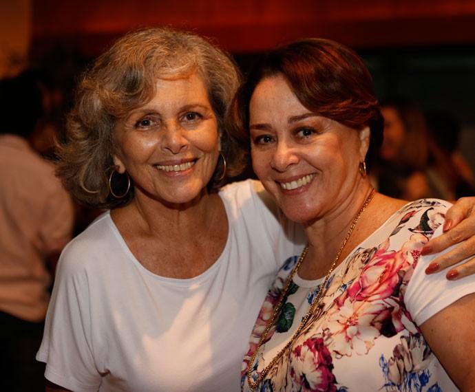 Irene Ravache e Nívea Maria em evento no Projac (Foto: Ellen Soares/Gshow)