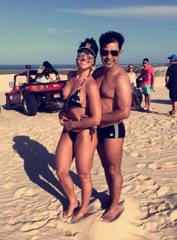 Graciele Lacerda e Zezé Di Camargo (Foto: Reprodução)