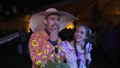 Globo Rural mostra um arraial junino bem típico e animado