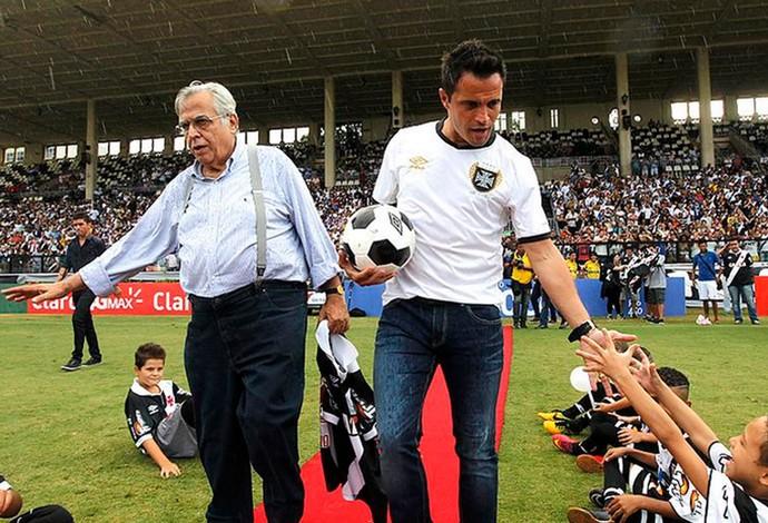 falcão apresentado vasco x bangu  (Foto: Marcelo Sadio/Vasco da Gama)
