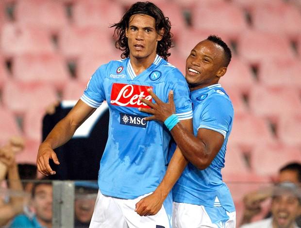 Cavani, Napoli x Lazio (Foto: Agência Reuters)