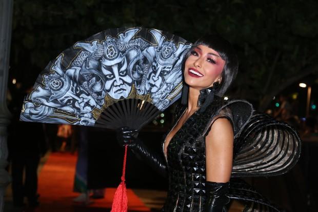 Sabrina Sato no Baile do Copa (Foto: Anderson Borde / agnews)