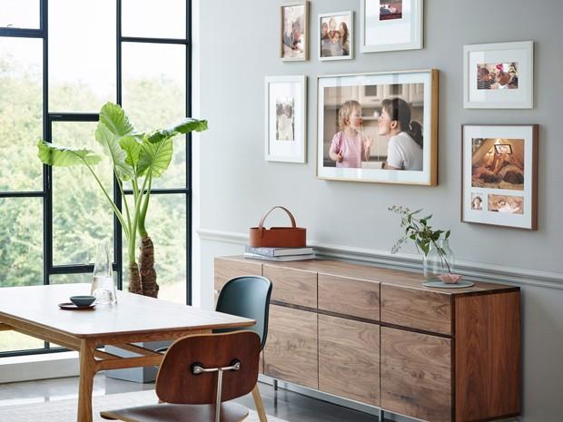 Quadro ou TV? Conheça The Frame, a televisão que se camufla na parede (Foto: Divulgação)