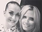 Heidi Klum tieta Katy Perry: 'Você arrebenta!'
