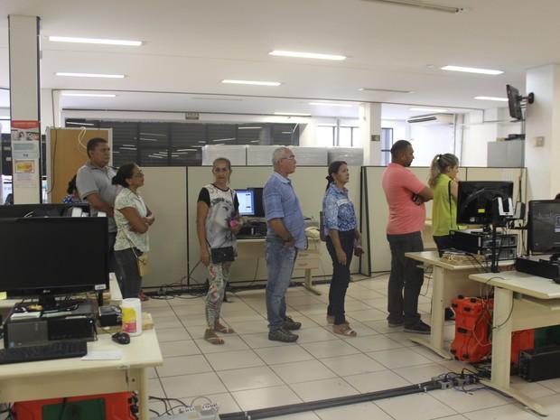 Eleitores têm até quinta-feira (22) para tirar segunda via (Foto: Gustavo Almeida/G1)