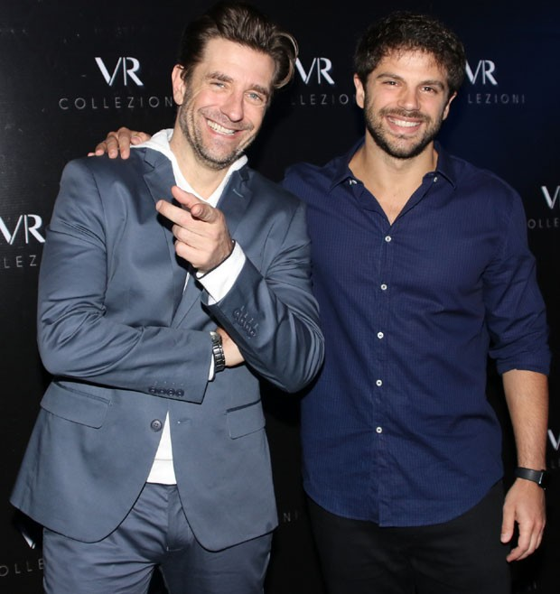 Alexandre Barros e Duda Nagle (Foto: Thiago Duran  / Agnews)