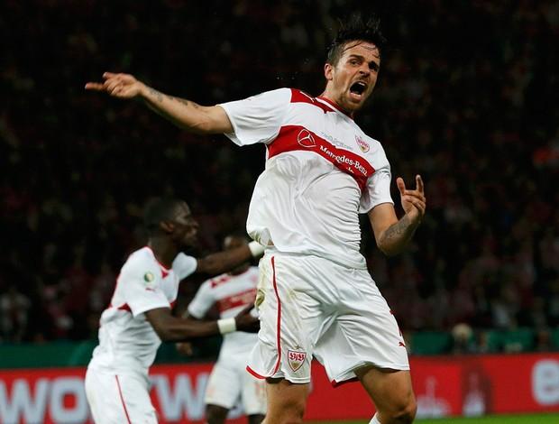 Martin Harnik stuttgart gol bayern de munique copa da alemanha (Foto: Agência Reuters)