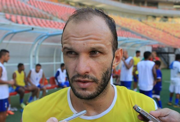 Danilo Rios é uma das principais esperanças do Nacional para o jogo (Foto: Marcos Dantas)