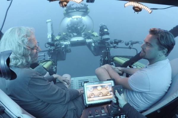 Leonardo DiCaprio e Brett Ratner em Before The Flood  (Foto: Divulgação)