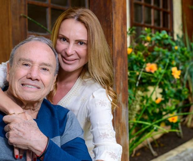 Stênio Garcia e Marilene Saade (Foto: Fabio Cordeiro/ Ed. Globo)