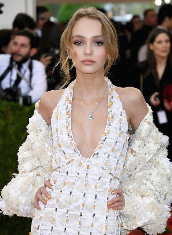 Lily-Rose Depp tem 16 anos (Foto: Getty Images)