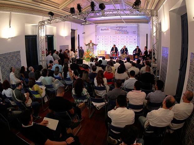 Programação foi divulgada nesta sexta-feira (18), na Caixa Cultural. (Foto: Manu Dias/GOVBA)